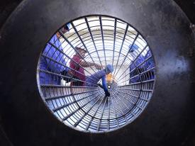 Cage preparation